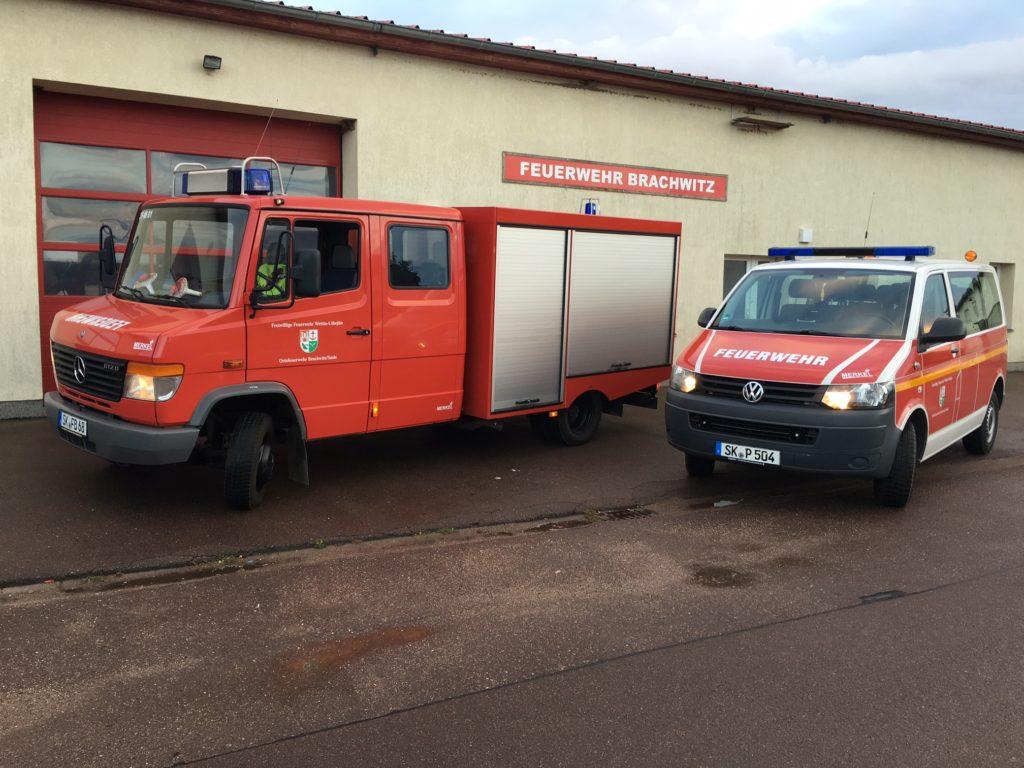 TSF-W und MTF Freiwillige Feuerwehr Brachwitz