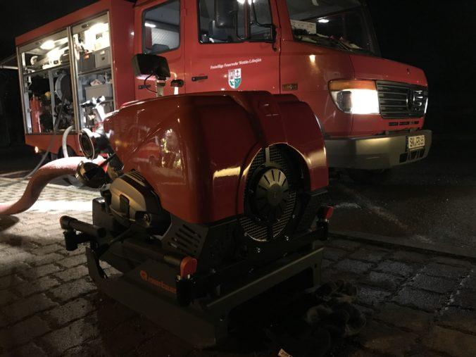 Immer wieder Freitags - Ausbildung bei der Freiwilligen Feuerwehr Brachwitz