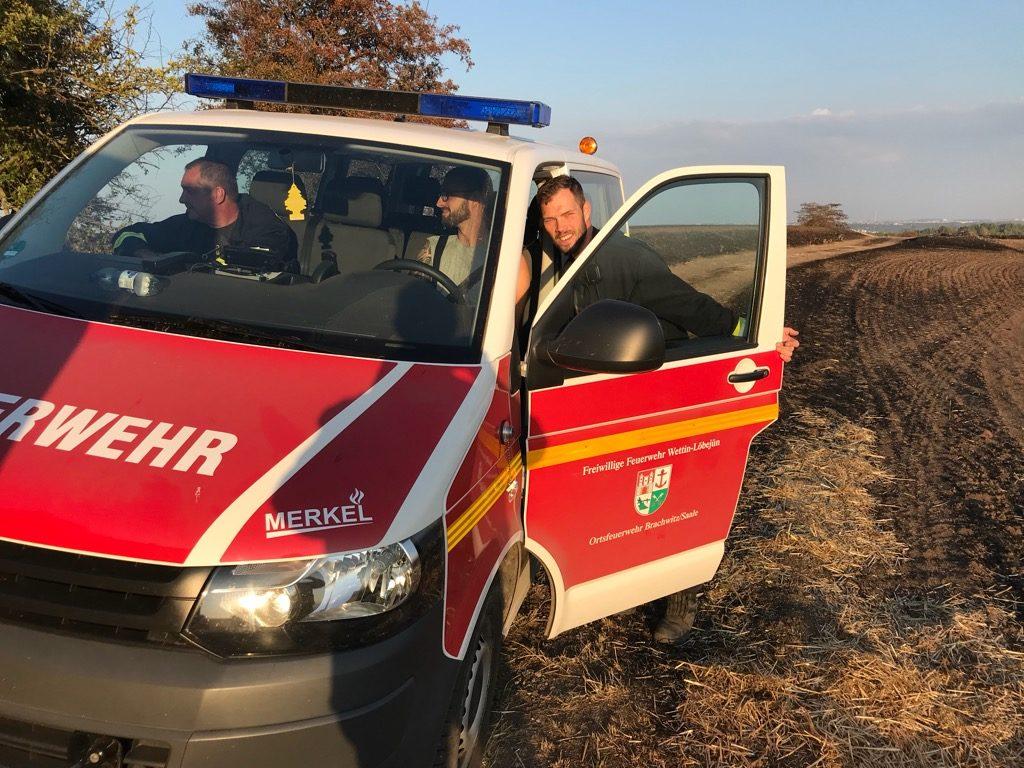 Einsatz 32-2018 Ödlandbrand - FF Brachwitz
