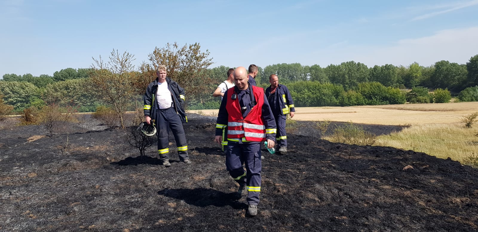 Einsatz 27-2018 Brand Ödland- FF Brachwitz