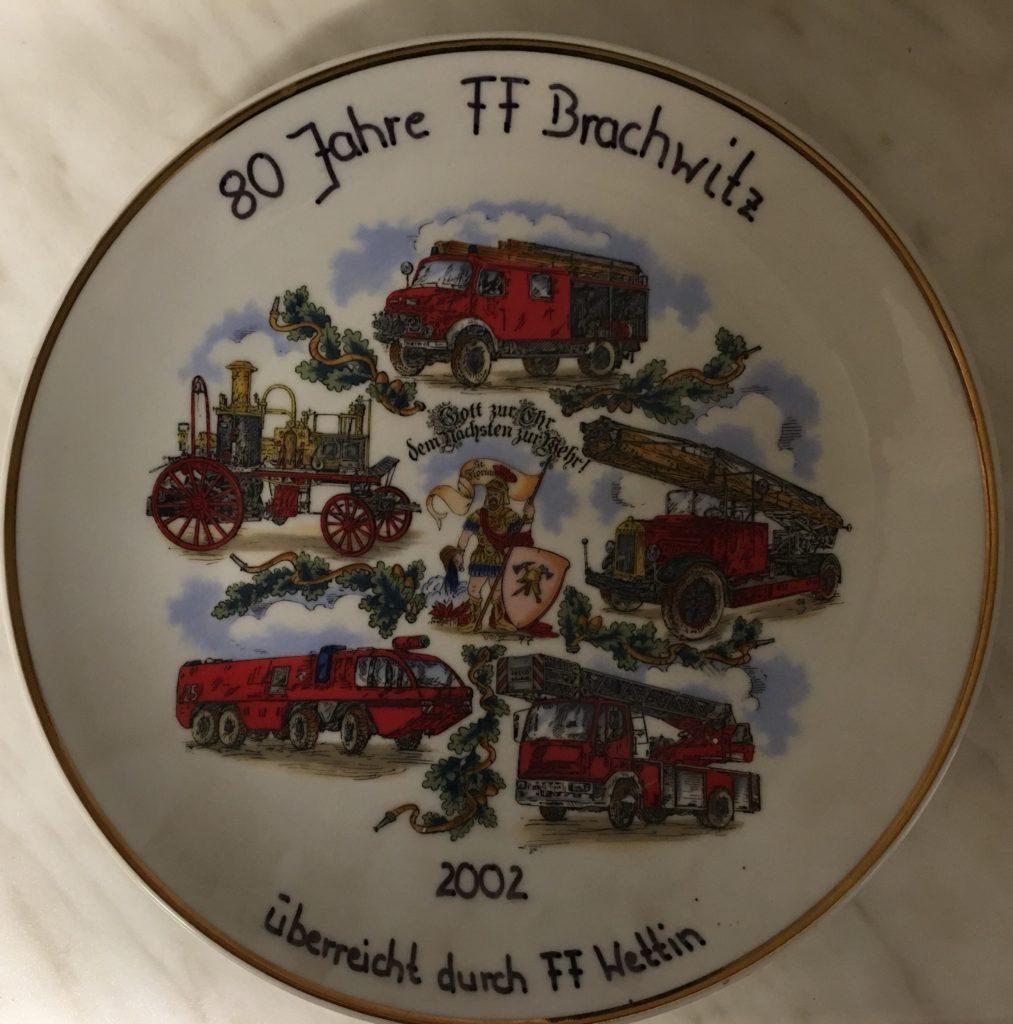 80 Jahre Feuerwehr Brachwitz
