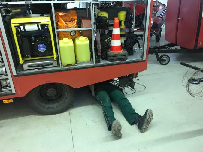 Feuerwehr, Brachwitz, Herbst-Putz